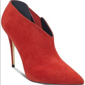 Brand new Guess Ondrea Red Booties